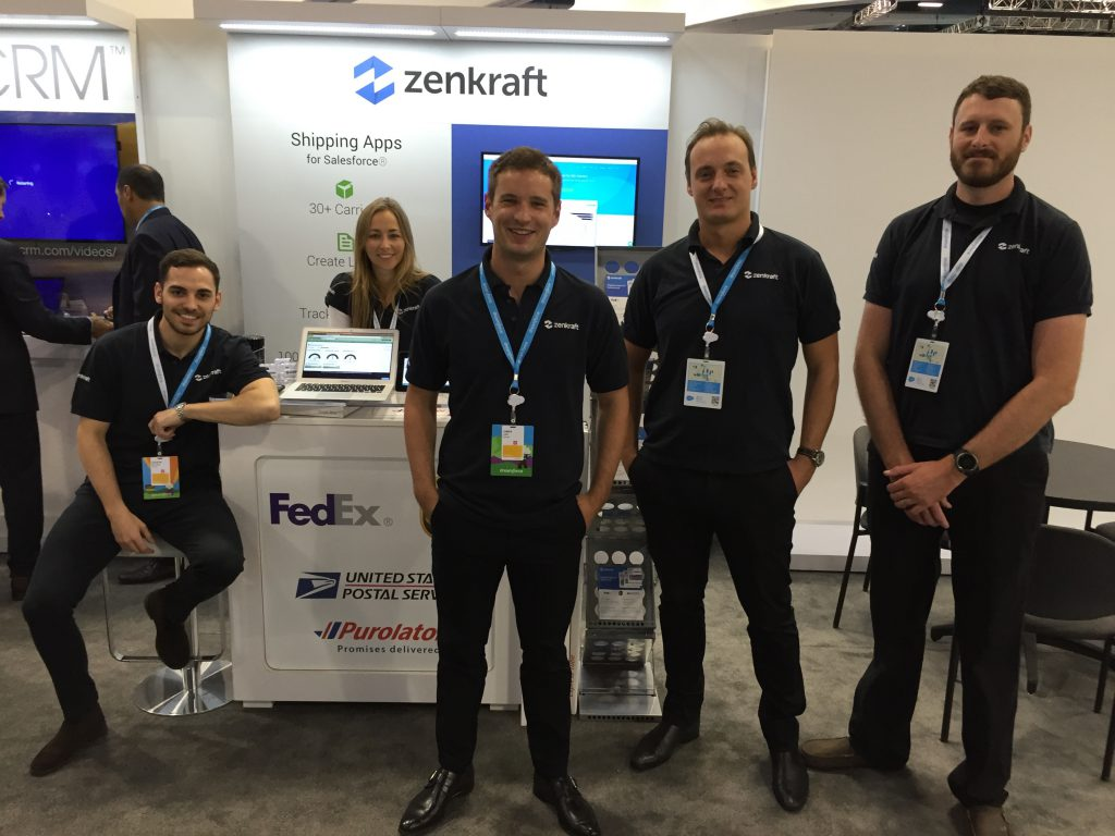 The Zenkrafts team at booth #2208