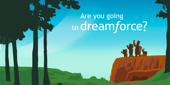 dreamforce 2017 background